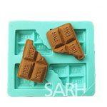 [B0122147XA] 【Ever garden】 チョコレート 型 シリコンモールド / 手作り 石鹸 / キャンドル / 粘土 / レジン / シリコン モールド / 型 抜き型