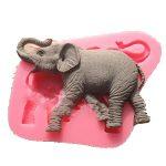 [B01401FUH2] 【Ever garden】 ゾウ 象 動物 シリコンモールド / 手作り 石鹸 / キャンドル / 粘土 / レジン / シリコン モールド / 型 抜き型