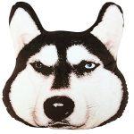 [B019TTA2WI] しあわせ倉庫 男前 犬 クッション 3D リアル 大きい 抱き 枕 ぬいぐるみ インテリア (ヒットマン)