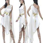 [B0152ZL614] クレオパトラ 世界の衣装 コスチューム 白 レディース フリーサイズ