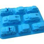 [B00STYQ7OC] 【 車 】 ビッグサイズ シリコンモールド 手作り 石鹸 キャンドル 粘土 バスボム レジン シリコン モールド 抜き 型
