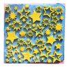 [B00ZNZEJS6] 【Ever garden】 星 シリコンモールド / 手作り 石鹸 / キャンドル / 粘土 / レジン / シリコン モールド / 型 抜き型