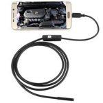 [B01COHUR4A] 【 高 性能 】 直径 7 mm LED 防水 スネーク カメラ ( 長さ 1.0 m ) アンドロイド 対応 写真 動画 撮影 SD-FEXCAM-A1-10
