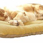 [B00XZ0KR3W] wan nyan paradise 犬 猫 等 ペット ぐっすり眠る ふんわり ベッド マット クッション (M, 茶)