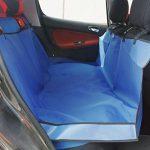 [B01778L89Y] (Baoxinjp) ペット ドライブシート 後部座席用 車載 おでかけ ペットシート 耐久性抜群 ペットベッド 小型犬 中型犬 大型犬 防水シート カバー オシャレ かわいい ブルー