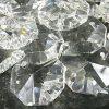 [B017OS1HNE] サンキャッチャー パーツ 八角 クリスタル ガラス ビーズ 10 ? 20 mm 手芸 アクセサリー 手作り (18mm45個)