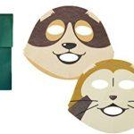 [B00UI3M9WQ] 『 友達 フェイス パック ギフト 袋 セット 』 ラスカル & パトラッシュ 世界 名作 劇場 あらいぐま フランダース の 犬 FRIEND FACE PACK スターリング ・ ノース ハウザー ネロ ・ ダース アロア お土産 マスク シート 化粧品 美容 コスメ 美白 日本製 人気 限定 おもしろ キャラクター グッズ