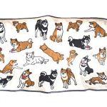 [B013W00AEK] 【かわいい柴犬いっぱい】やわらか ブランケット ひざかけ 犬 グッズ 雑貨 マイクロ フリース (柴犬)